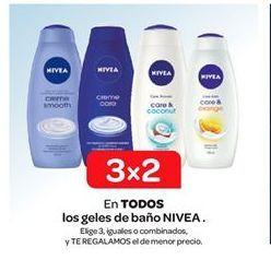 Oferta de En TODOS los geles de baño NIVEA . por