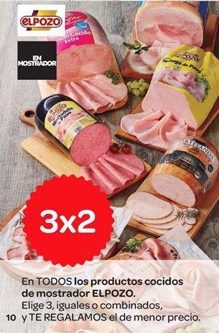 Oferta de Embutidos cocidos de mostrador El Pozo por