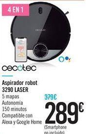 Oferta de Aspirador robot 3290 LASER por 289鈧�