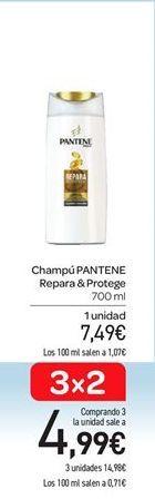 Oferta de Champú Pantene  por 7.49€