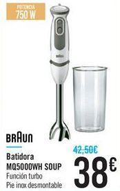 Oferta de Batidora MQ5000WH SOUP por 38€
