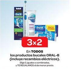 Oferta de En TODOS los productos bucales ORAL-B (incluye recambios eléctricos). por