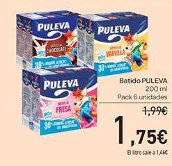 Oferta de Batidos Puleva por 1.75€
