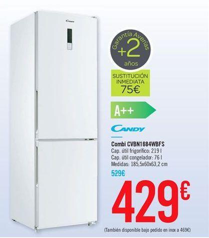 Oferta de Combi CVBN1684WBFS por 429€