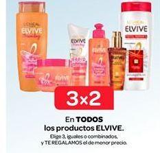 Oferta de Los productos Elvive por