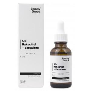 Oferta de Beauty Drops Aceite Reafirmante 1% Bakuchiol + Escualeno por 7.95€