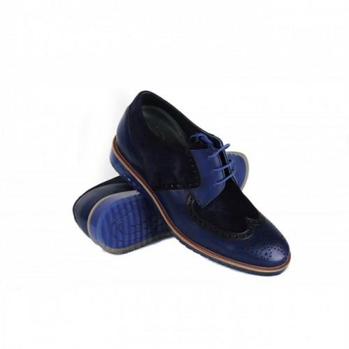 Oferta de Zapatos con alzas para hombre fabricados en España que aumentan 7 cm por 143.2€