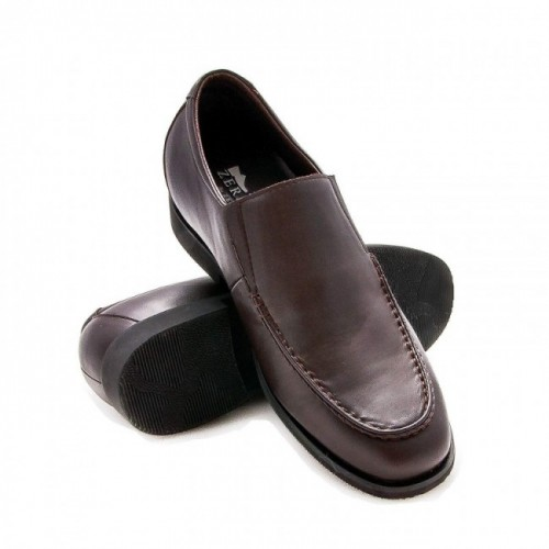 Oferta de Zapatos tipo mocasin con alzas de 6,5 cm para hombre por 111.2€