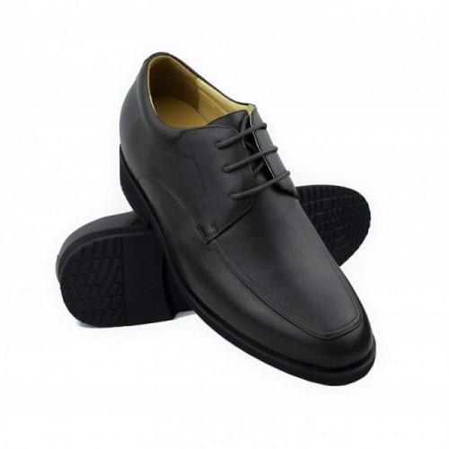 Oferta de Zapatos de vestir de piel para hombre con alzas interiores de 6,5cm por 111.2€