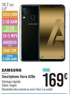Oferta de Smartphones Samsung por 169€