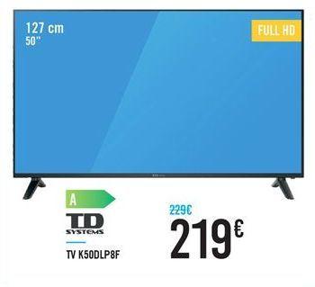 Oferta de Smart tv Td systems por 219€