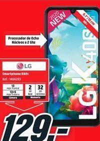 Oferta de Smartphones LG por 129€