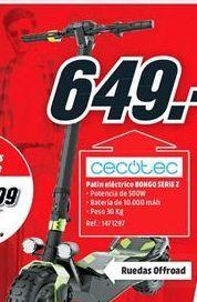 Oferta de Patinete eléctrico cecotec por 649€