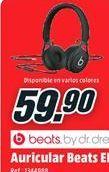 Oferta de Auriculares diadema Beats por 59.9€