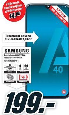 Oferta de Smartphones Samsung por 199€