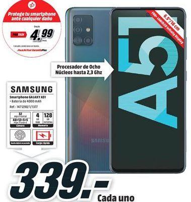 Oferta de Smartphones Samsung por 339€