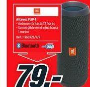 Oferta de Altavoces bluetooth JBL por 79€