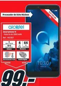 Oferta de Smartphones Alcatel por 99€