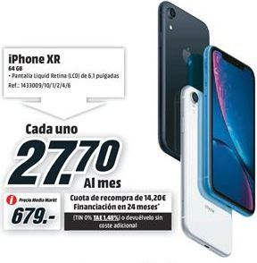 Oferta de IPhone XR Apple por 679€