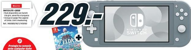 Oferta de Consola portátil Nintendo por 229€