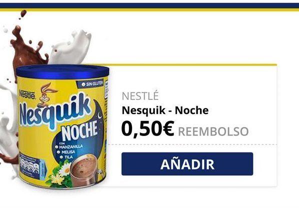 Oferta de Cacao soluble Nesquik por