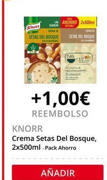 Oferta de Crema de champiñones Knorr por