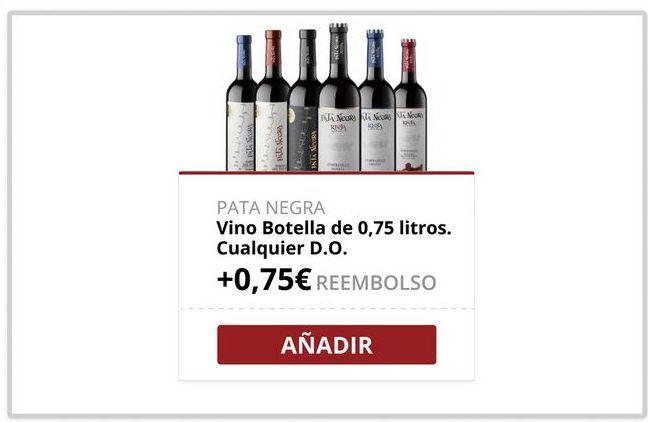 Oferta de Vino tinto Pata Negra por