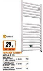 Oferta de Radiador toallero por 29€
