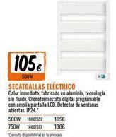 Oferta de Radiador toallero por 105€