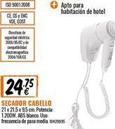 Oferta de Secador por 24.75€