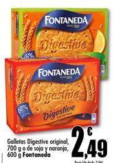 Oferta de Galletas Digestive Fontaneda por 2.49€