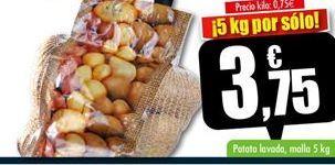 Oferta de Patatas por 3.75€