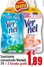 Oferta de Suavizante Vernel por 1.89€