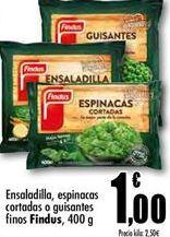 Oferta de Ensaladilla rusa congelada Findus por 1€
