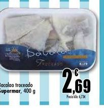 Oferta de Bacalao por 2.69€