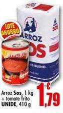 Oferta de Arroz Sos por 1.79€
