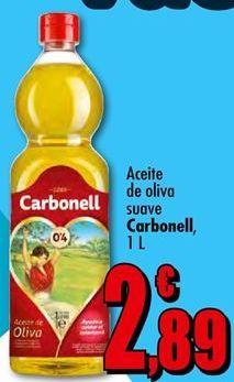 Oferta de Aceite de oliva Carbonell por 2.89€