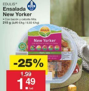 Oferta de Ensaladas preparadas edulis por 1.49€