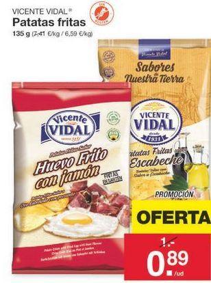 Oferta de Patatas fritas Vicente Vidal por 1€