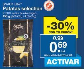 Oferta de Patatas fritas Snack Day por 0.69€