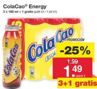 Oferta de Batidos Cola Cao por 1.49€