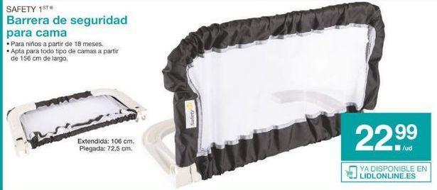 Oferta de Barrera de cama por 22.99€