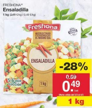 Oferta de Ensaladilla rusa Freshona por 0.5€
