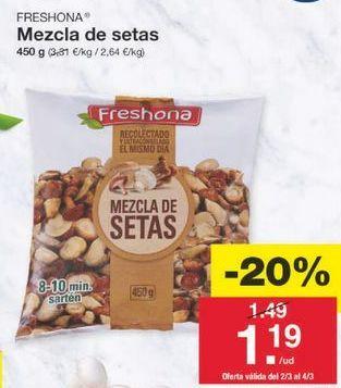 Oferta de Setas Freshona por 1.19€