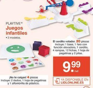 Oferta de Juegos Playtive por 9.99€