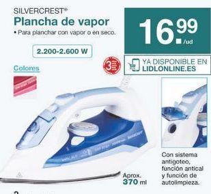 Oferta de Plancha de vapor SilverCrest por 16.99€