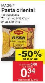 Oferta de Pasta oriental Maggi por 0.52€