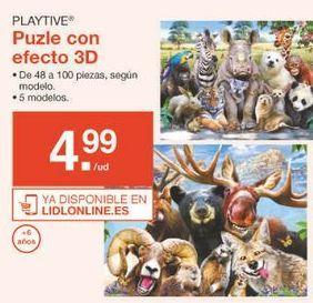 Oferta de Puzzle 3d Playtive por 4.99€
