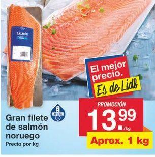 Oferta de Salmón ahumado por 13.99€