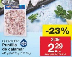 Oferta de Puntillas ocean sea por 2.3€